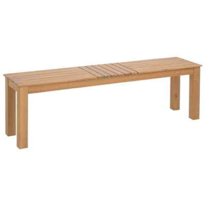 Charlotte Eucalyptus Wood Outdoor Bench