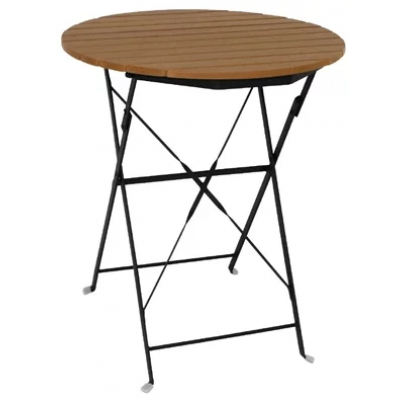 Coventry Outdoor Faux Wood Round Table