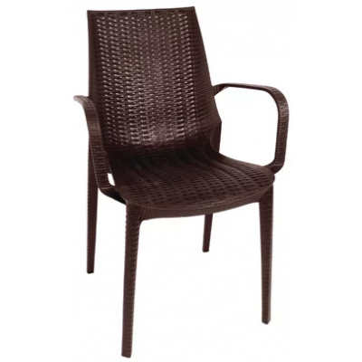 Downham Outdoor Rattan Bistro Armchair