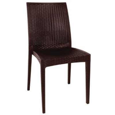 Downham Outdoor Rattan Bistro Sidechair
