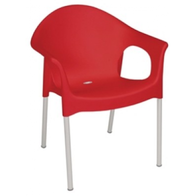 Elstree Plastic Cafe Stacking Armchair