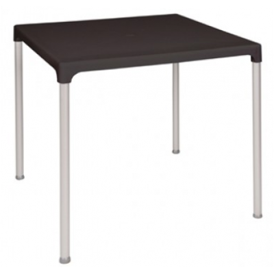 Fernhill Outdoor Cafe Table in Black or White