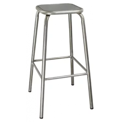 Hastings Galvanised Steel Indoor or Outdoor High Stool