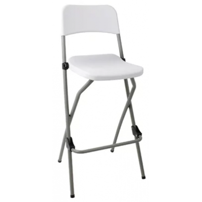 Huntington Indoor or Outdoor Folding High Stool