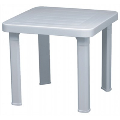 Resol Sun Lounger Outdoor White Side Table