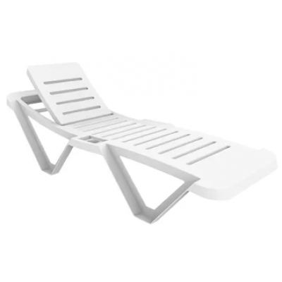 Resol White Sun Lounger