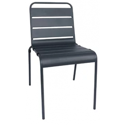 Rothbury Slatted Outdoor Steel Chair