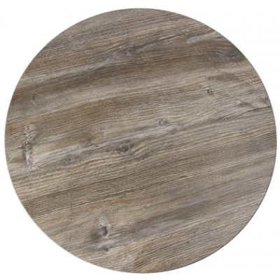 Durolight Vintage Pine Effect Top 600mm Dia