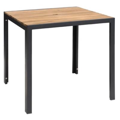 Jackie Steel and Acacia Outdoor Table