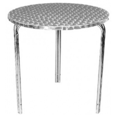 York Outdoor Cafe Aluminium Stacking Table