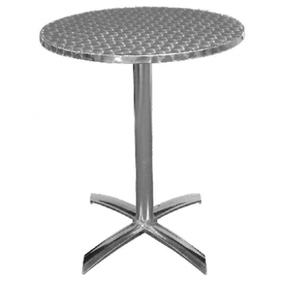 York Outdoor Flip Top Aluminium Round Table