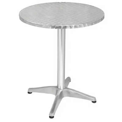 York Round Centre Pedestal Outdoor Cafe Table