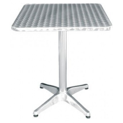 York Square Centre Pedestal Outdoor Cafe Table