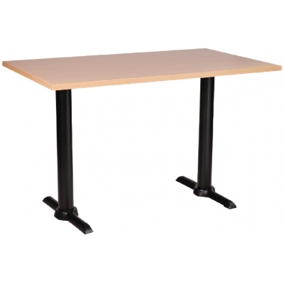 Rectangular Beech MFC Table