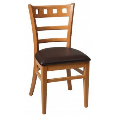 Montreal Walnut Side Chair