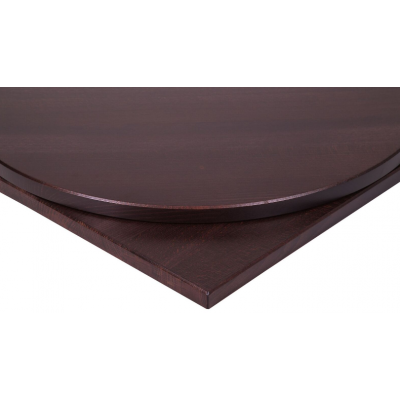 Solid Wood Rectangular Wenge Top