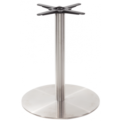 Stainless Steel Round Restaurant Table Base