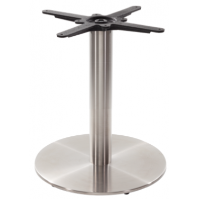 Stainless Steel Round Coffee Table Base