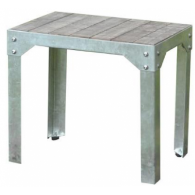Adelaide Distressed Indoor or Outdoor Bar Low Stool