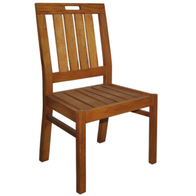 Duchess Oak Outdoor Restaurant Chair