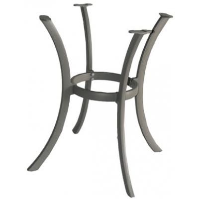 Grey Aluminium 4-Leg Table Base