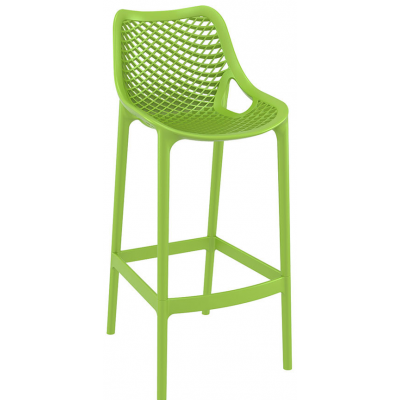 Ava Indoor or Outdoor Polypropylene High Bar Stool