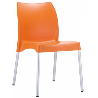 Evelyn Polypropylene Outdoor Stacking Chair
