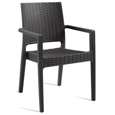 Gina Restaurant Outdoor Stacking Armchair