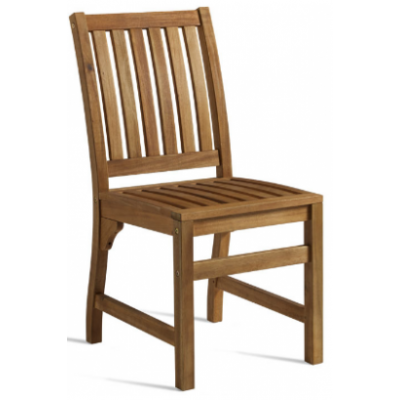 Harriet Acacia Wood Restaurant Chair