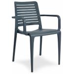 Petra Polypropylene Indoor or Outdoor Cafe Armchair