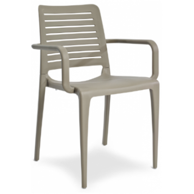 Petra Polypropylene Indoor or Outdoor Cafe Armchair