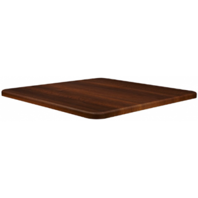 Dark Walnut Square Laminate Table Top