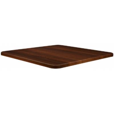 Dark Walnut Square Laminate Table Top