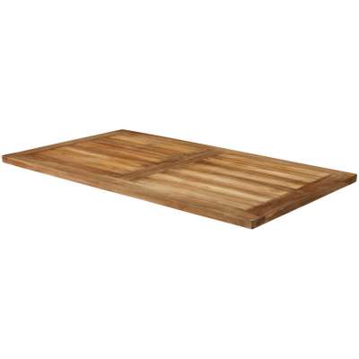 Solid Teak Rectangular Table Top