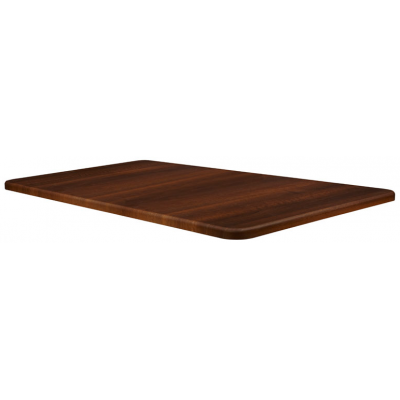 Dark Walnut Rectangular Laminate Table Top