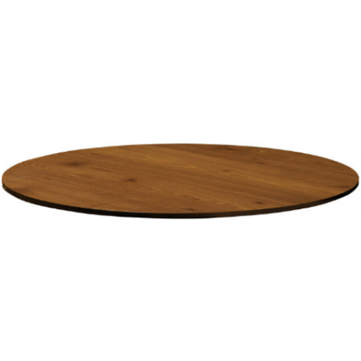 Extrema Teak Laminate Table Top - pre drilled