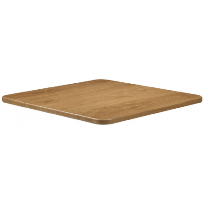 Oak Laminate Square Table Top