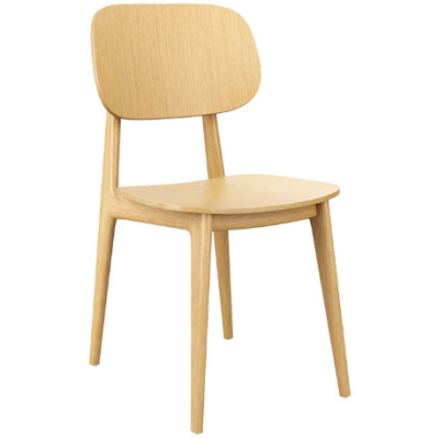 Jenny Oak Bistro Side Chair