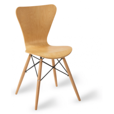 Roca Cross Frame Side Chair