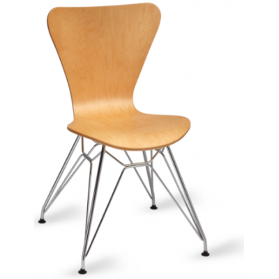Roca Metal Frame Side Chair